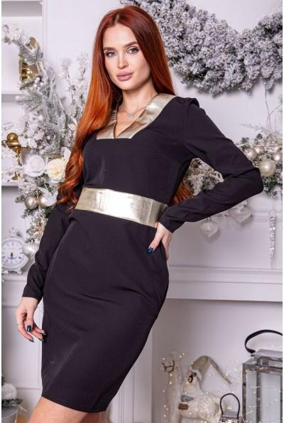 Платье 104R032 цвет Черный