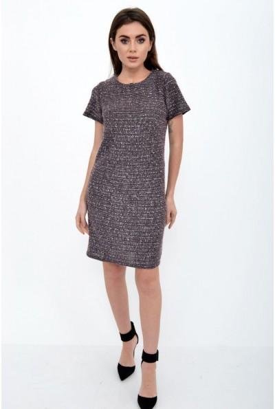 Платье женское 115R353 цвет Розово-коричневый