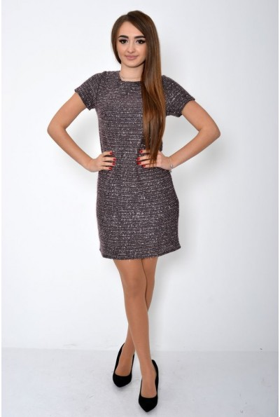 Платье женское 115R353 цвет Розово-красный