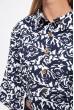 Пиджак женский 115R220-22 цвет Сине-белый скидка