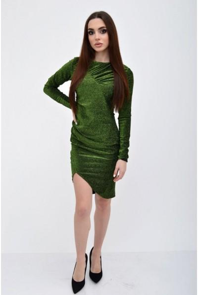 Платье женское 115R352 цвет Зеленый