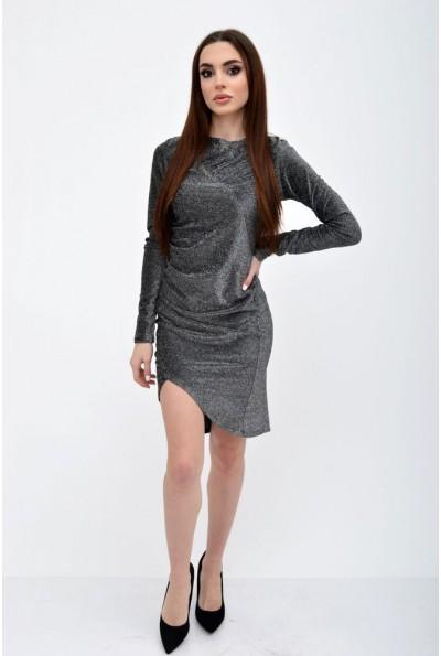 Платье женское 115R352 цвет Серебристый