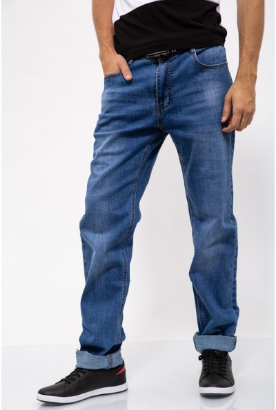 Джинсы мужские полубатал 129R1112 цвет Синий
