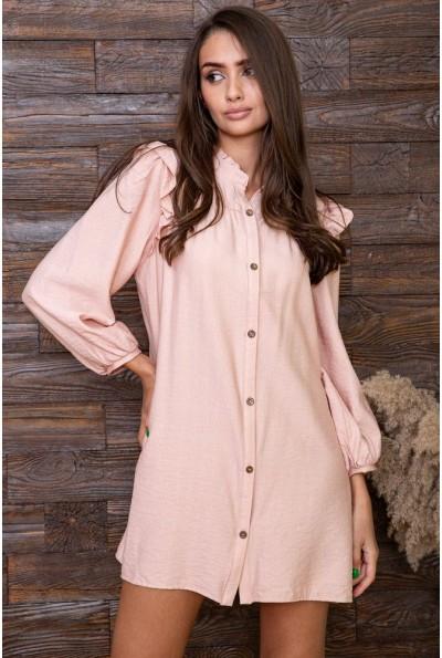 Платье   цвет персиковый 115R428-4 66374