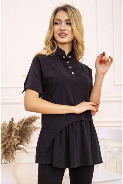 Блуза женская 119R187 цвет Черный 28660