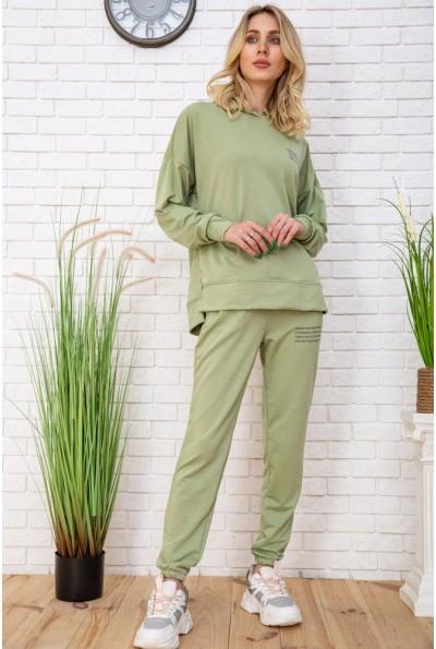 Летний спортивный костюм женский цвет Фисташковый 129R15115 57133