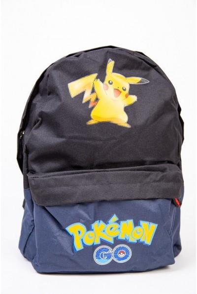 Рюкзак Покемон Пикачу Pokemon Go Pikachu Черный 154R003-41-2 53844