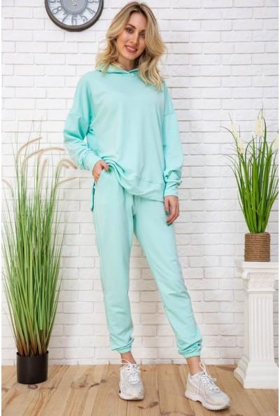Летний спортивный костюм женский цвет Мятный 129R15115 57162