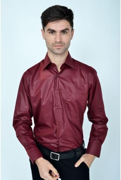 Рубашка 113ROM102 цвет Вишневый