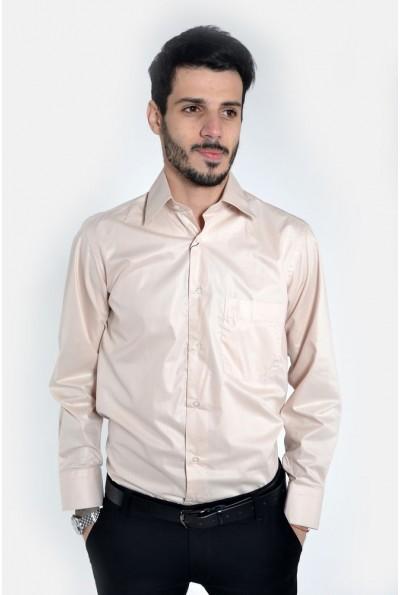 Рубашка 113ROM102 цвет Бежевый
