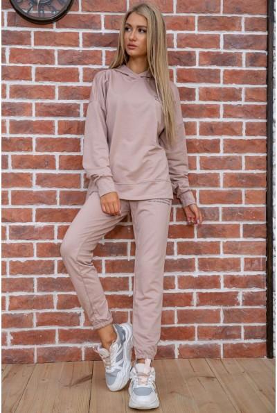 Спортивный костюм женский  цвет бежевый 129R15115 57106