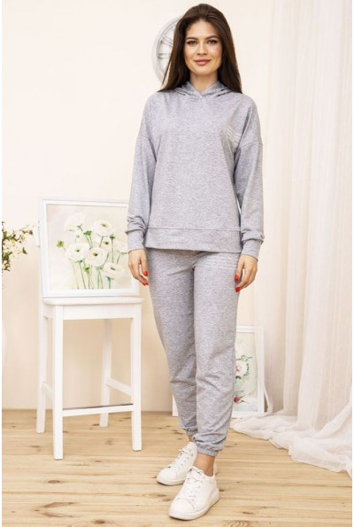 Спортивный костюм женский 129R15115 цвет Светло-серый