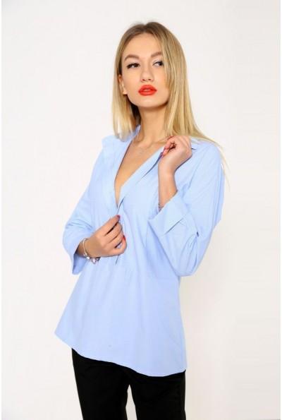 Блуза женская 115R336F цвет Бело-голубой