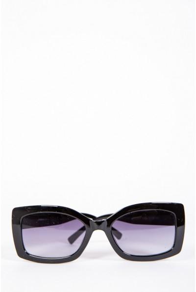 Очки женские солнцезащитные  154R80055 цвет Черный 57050