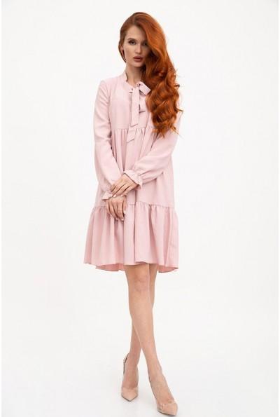 Платье женское 119R3 цвет Пудровый 29126