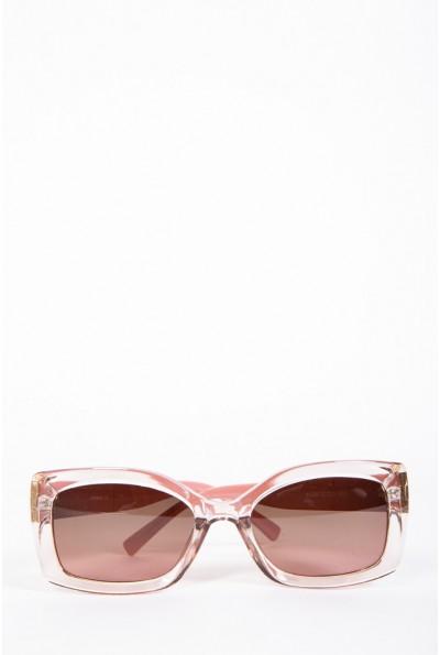 Очки женские солнцезащитные  154R80055 цвет Пудровый 57048