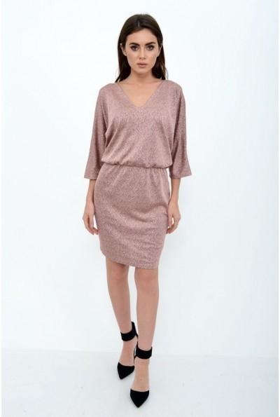 Платье женское 115R164 цвет Пудровый