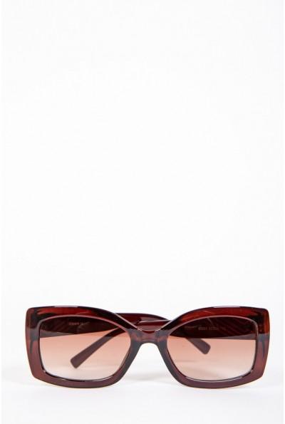 Очки женские солнцезащитные  154R80055 цвет Коричневый 57046