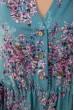 Платье женское 115R393-10 цвет Бирюзовый цена 1009.0000 грн