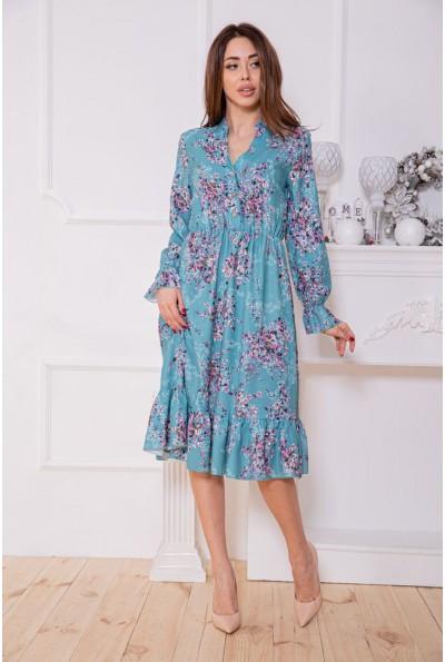 Платье женское 115R393-10 цвет Бирюзовый