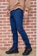Джинсы мужские на флисе   цвет синий 129R2097 стоимость
