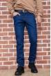 Купить Джинсы мужские на флисе   цвет синий 129R2097 67273