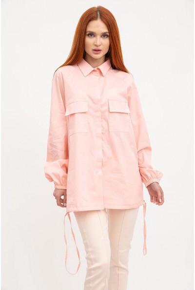 Рубашка женская 119R0406 цвет Персиковый