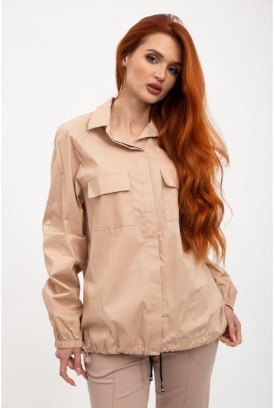 Рубашка женская 119R0406 цвет Бежевый