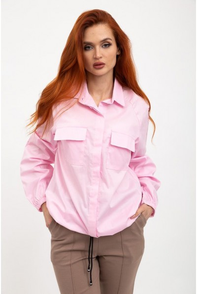 Рубашка женская 119R0406 цвет Розовый
