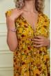Платье женское 115R411-1 цвет Горчичный скидка
