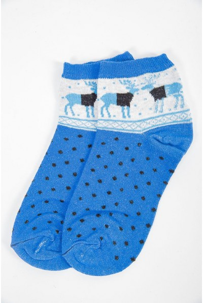 Носки женские 151R019 цвет Синий