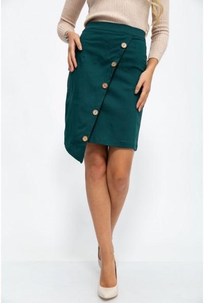 Офисная юбка карандаш цвет Зеленый 153R1056 42067