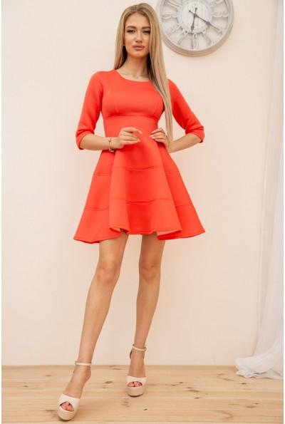 Платье 167R1608 цвет Коралловый 56393