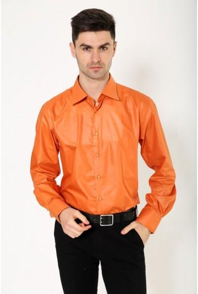 Рубашка светло-кирпичная 113RPass25