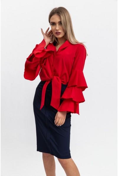 Блуза 103R0810 цвет Красный