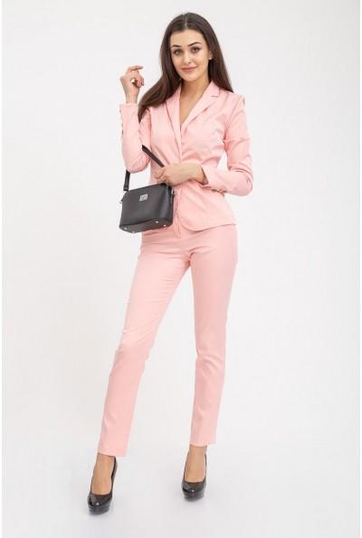 Костюм женский классический пиджак брюки 104R1182 Персиковый