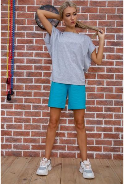 Костюм женский  цвет серо-бирюзовый 102R208 67580