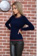 Свитер женский  цвет темно-синий 131R9022 стоимость