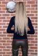 Свитер женский  цвет темно-синий 131R9022 цена 769.0000 грн