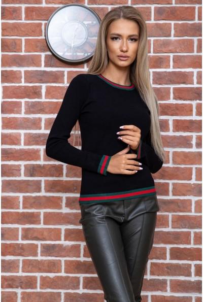 Свитер женский  цвет черный 131R9022 66517