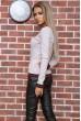 Свитер женский  цвет светло-бежевый 131R9022 стоимость