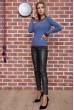 Свитер женский  цвет джинс 131R9022 стоимость