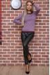 Свитер женский  цвет светло-фиолетовый 131R9022 недорого