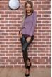 Свитер женский  цвет светло-фиолетовый 131R9022 стоимость