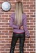 Свитер женский  цвет светло-фиолетовый 131R9022 скидка