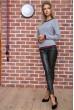 Свитер женский  цвет серый 131R9022 недорого