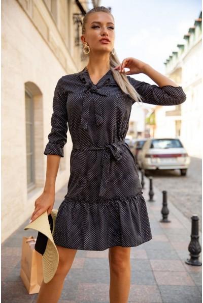 Платье женское 112R485-4 цвет Черный