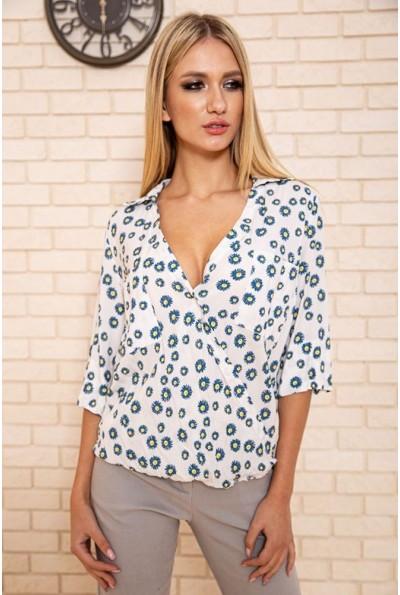 Блузка 115R222-9 цвет Белый