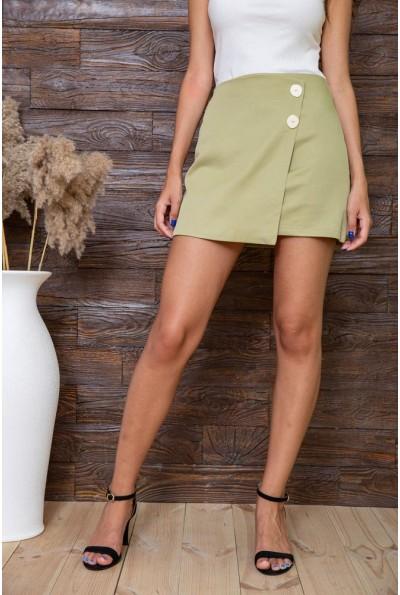 Юбка женская  цвет оливковый 180R016 63832