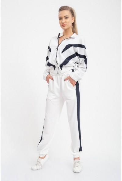 Спорт костюм женский 103R8172 цвет Бело-синий